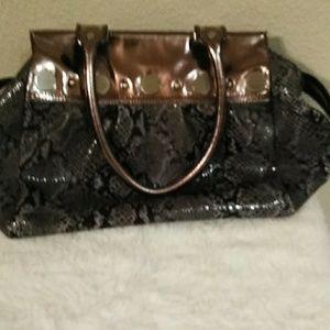 Vintage Jessica Simpson snakeskin purse